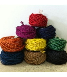 Araliya Coloured Coir String - 25 Metre Roll