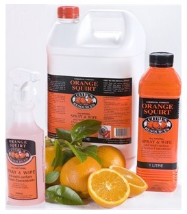 Orange Squirt Multi Surface Spray & Wipe - 1 Litre, 5 Litre, Dispenser Bottle