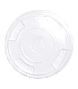 Flat Lid for 360ml PLA cups - Pack of 50.