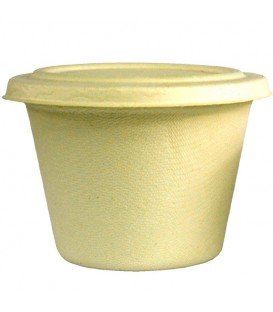 Medium Bowl, Sugarcane Fibre, 16oz/475ml - Full Carton.
