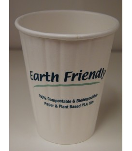 Cups - Double Wall Biocup - 8oz - Earth Friendly
