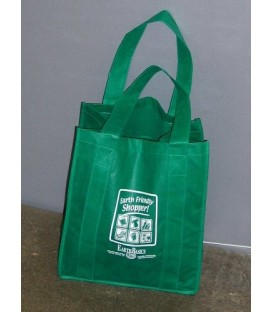 Green Shopping Bags - 'Standard' Style