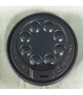 Lids for 8oz Corrugated Cups - Carton of 1000