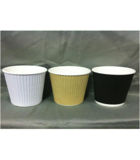 4oz Corrugated Cups - Carton 1000