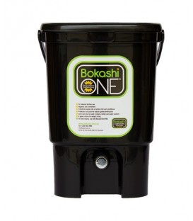 Bokashi One' Bin - Starter Kit - Black