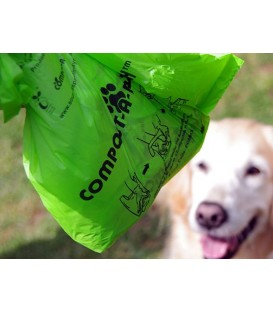 Compost-a-Pooch dog waste bags
