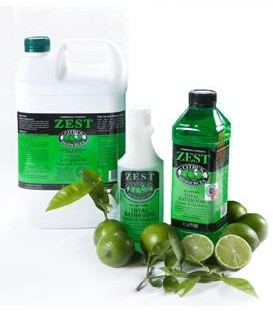 Citrus Based - Zest Bathroom Cleaner & Deodoriser - 5 Litre Bottle