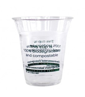 Cup, Clear PLA, 360ml/12oz - Pack of 50.